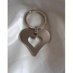 Porte clés bijou de sac , coeur